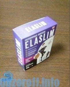 оригинальная коробка с колготами Elaslim