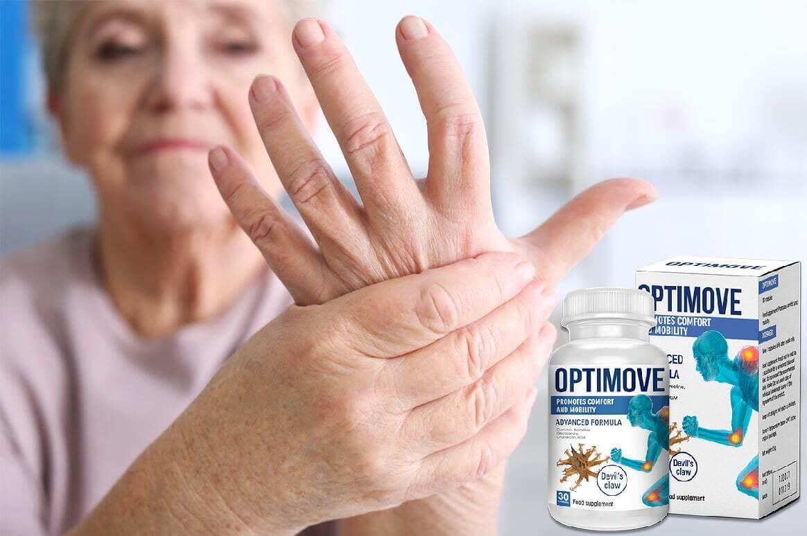 Optimove სახსრებისა და ხერხემლის სამკურნალოდ