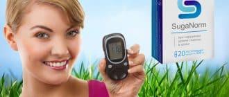 Kapsuly SugaNorm na liečbu diabetes mellitus