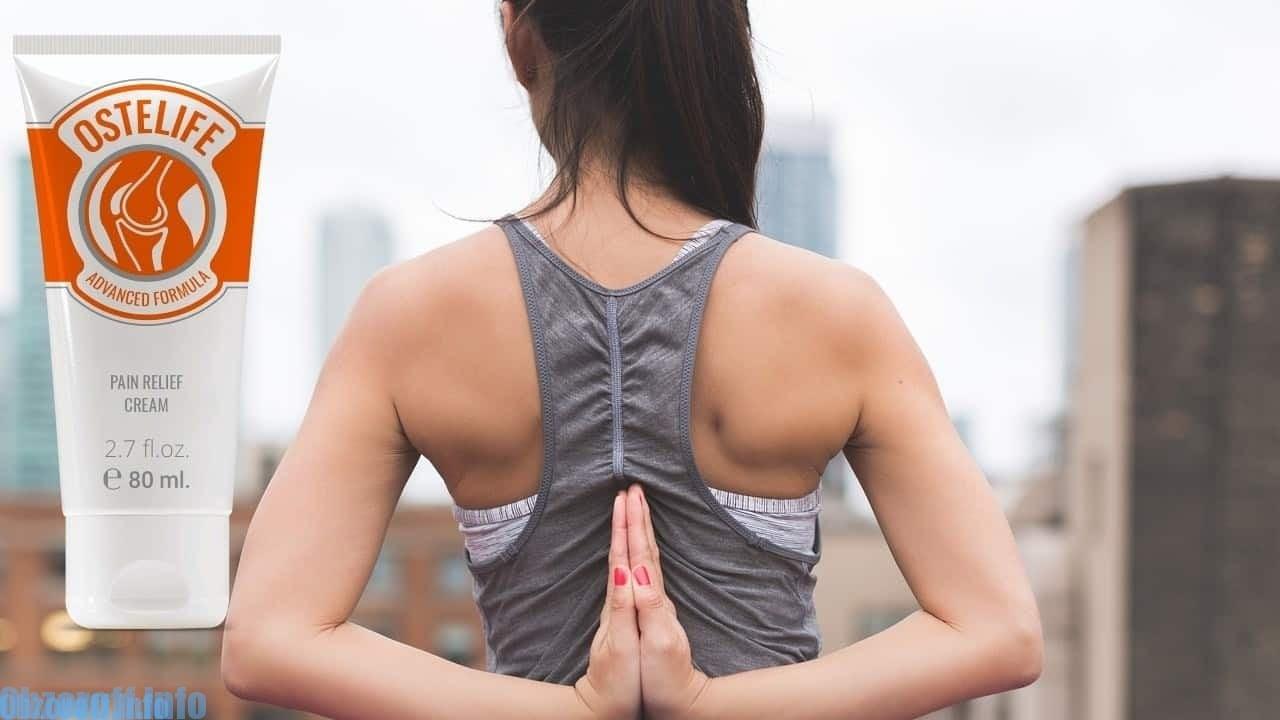Ostelife крем за болки в гърба и болки в ставите