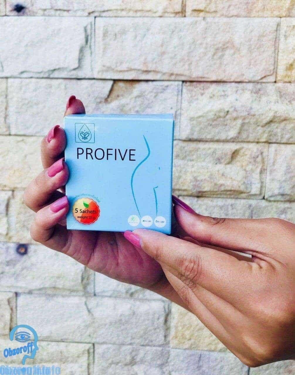 ผลิตภัณฑ์ลดน้ำหนักและไขมันส่วนเกิน Profive