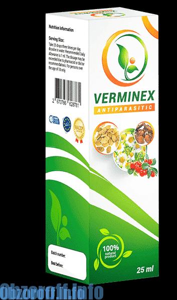VERMINEX para limpiar el cuerpo de parásitos y gusanos