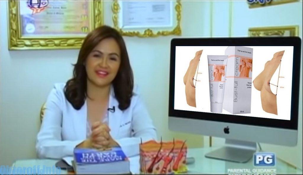 Feedback mula sa mga doktor ukol sa Bust-full cream na pampalaki ng dibdib