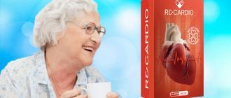 ReCardio κάψουλες για τη θεραπεία της υπέρτασης