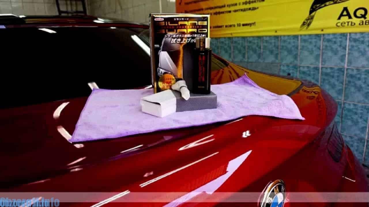 Šķidrais aizsargstikls Silane Guard Wilson automašīnas tūningam