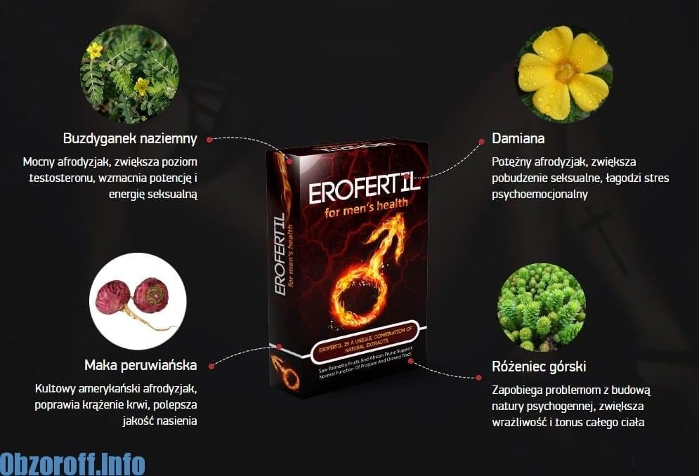 SKŁADNIKI Erofertil