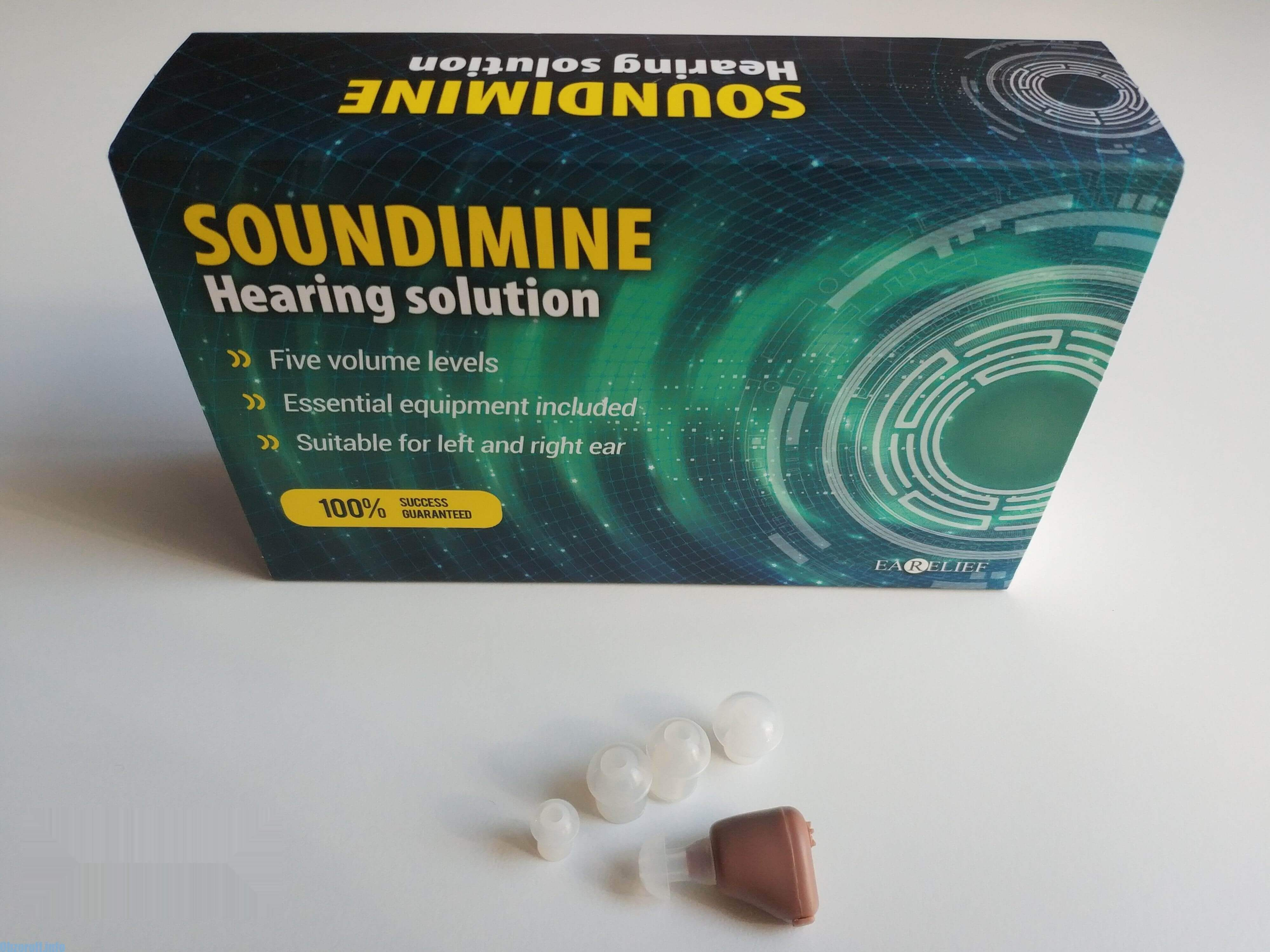 Hörgerät Soundimine Earelief