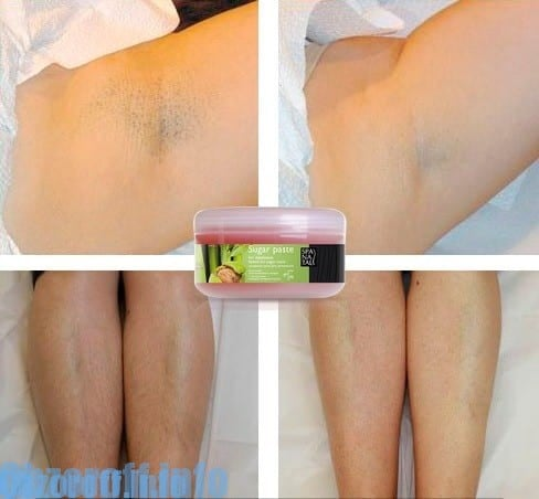 Paste Spanatal pentru shugaring - crema pentru depilare
