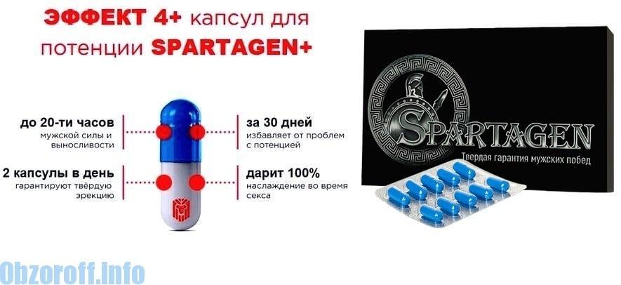 Useful properties of capsules Spartagen