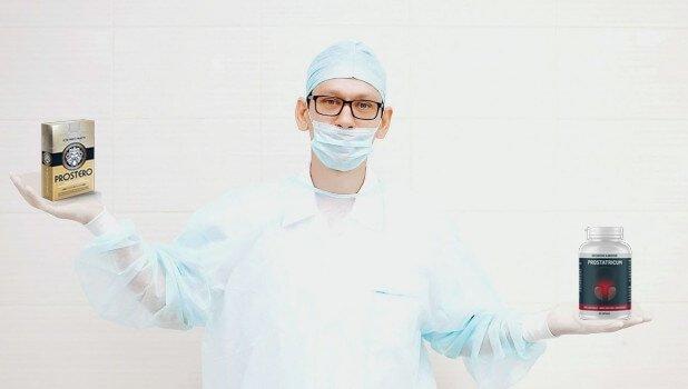 Сравнение Prostatricum s podobnými liekmi