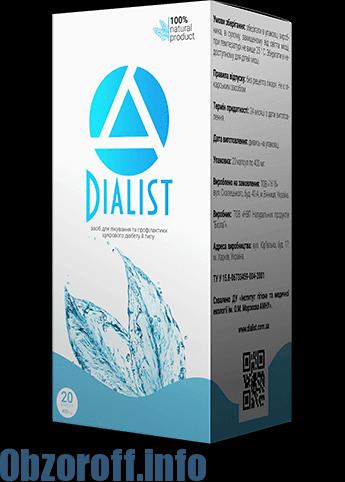 Dialist დიაბეტისთვის