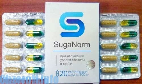 Kapsule SugaNorm za liječenje šećerne bolesti