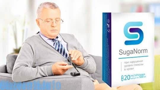 SugaNorm kapsule pro léčbu diabetes mellitus