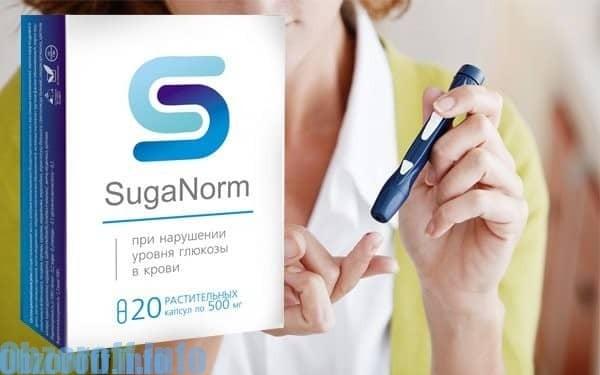 Kapsułki SugaNorm do leczenia cukrzycy