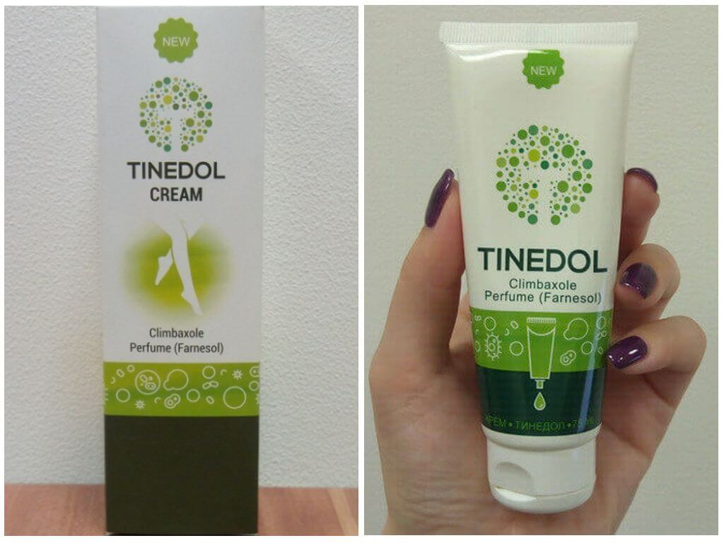 Tinedol - cream for the treatment of nail fungus and the elimination of mycosis on the legs