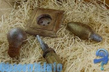 набор шоколадных инструментов для электриков