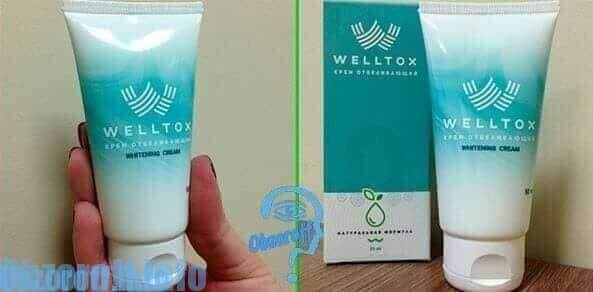 Welltox for at blegne ansigtet fra muldvarper