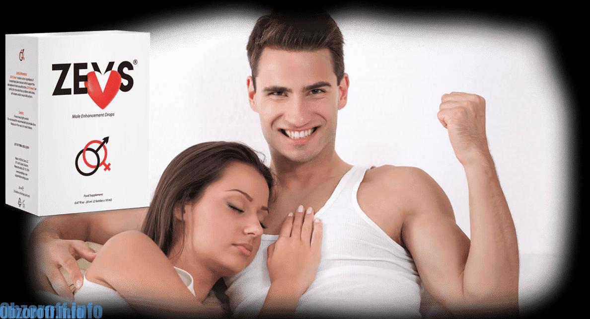 Tropfen Zevs zur Verbesserung der Erektion und Wiederherstellung der Potenz